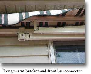 Little-Big Retractable Awning - Closed